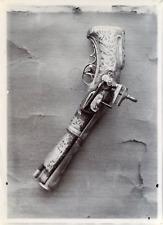 France, pistolet ancien, pistolet de cavalerie Vintage citrate print,  Tirage