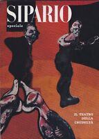 Sipario, rivista teatrale, 1965, Bompiani, cinema, Jean Genet, Amleto, Artaud