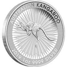 2019 P Australia Silver Kangaroo 1oz BU