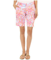 NWT $78 Lilly Pulitzer Bermuda Golf Chipper Short Sz 0 Pink Pout Too Much Bubbly