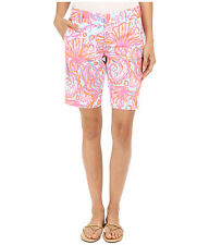 NWT Lilly Pulitzer Chipper Shorts Pink Pout Too Much Bubbly SZ 0 MSRP $78 #19987