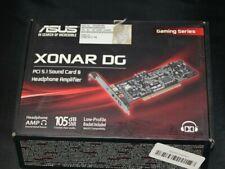Xonar DG Sound Card ASUS Xonar DG PCI 5.1 Headphone Amp GAMING SERIES