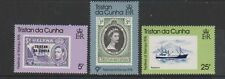 Mint Hinged Decimal Tristanian Stamps