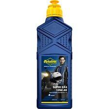 Aceite Putoline SUPER DX 4 | 10W-40 | Semisintetico | Moto | 1 litro | 4 tiempos