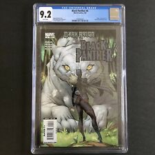 Black Panther 4 CGC 9.2 (2009) Campbell Avengers 1st Print Shuri Cover