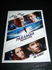 PARANOIA, film card [Liam Hemsworth, Gary Oldman]