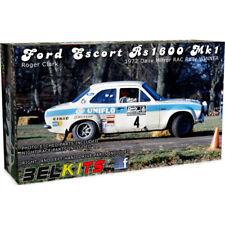 Belkits Ford Escort RS1600 MKI 1972 Roger Clark (escala 1:24) Modelo Kit BEL007