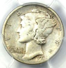 1921-D Mercury Dime 10C Coin - Certified PCGS VF35 - Rare Key Date!