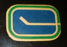 1973-83 NHL Viceroy Game Puck Rubberized Logos CANADA VANCOUVER CANUCKS old rare