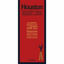 Red Maps Houston CURRENT EDITION - City Travel Guide