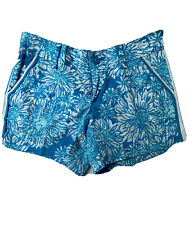 EUC Lilly Pulitzer Womens Callahan Shorts Blue Lion In The Sun Size 2