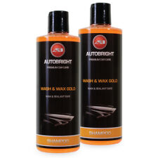 Autobright Car Wax Wash Wax Gold Shampoo Deep Cleanse & Advanced Polymers 1Litre