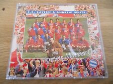"""F.C. BAYERN & ANDREW WHITE """"FOREVER NUMBER ONE"""" CD SINGLE 4 TRACKS WEST GERMANY*"""