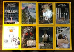 Rivista National Geographic Annate 2019 - 2021