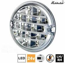 Rubbolite M837 24V 95mm Round LED Reverse Lamp Light Lorry Truck Trailer