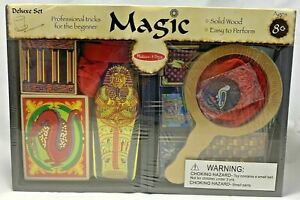 Melissa and Doug Deluxe Magic Set : New #1170 BEGINNERS PRO MAGIC TRICKS