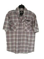Nwt Mens Harley Davidson Motorcycle Heavy Weight Plaid Button Up Shirt Sz XL