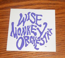 Wise Monkey Orchestra Sticker Decal Square Promo 3x3 Rare