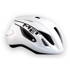 00 Met Strale Casque Course Taille M 54/58 Blanc