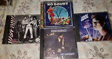 No Doubt 10,000 Maniacs Billy Idol  Big Audio Dynamite CD's albums
