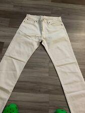 Gap Men's 1969 Straight Fit Jeans White Natural White Wash US Size 32x32 NWT