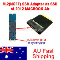 22*80mm M.2(NGFF) SSD Adapter as 8+18 Pin SSD of 2012 Macbook Air Pro Converter