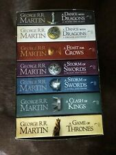 A Game of Thrones***The complete boxset of all 7 books***Like New***George RR