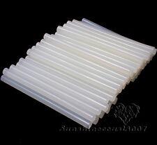 200PCS Hot Melt Mini Electric Glue Gun Stick Clear White Wholesale Lot 7mmX100mm