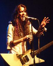 Lzzy Hale Halestorm 8x10 inch UK Live Concert Photos SET 2