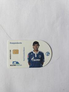 Knappenkarte Raul rund Schalke 04 Sammlung