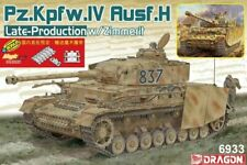 Dragon 1/35 Panzer IV Ausf H Late Production with Zimmerit (2 in 1)