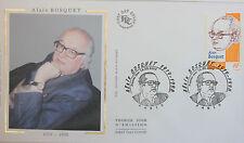 ENVELOPPE PREMIER JOUR - 9 x 16,5 cm - ANNEE 2002 - ALAIN BOSQUET