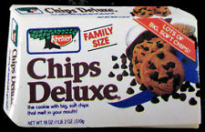 """Vintage 1990's Keebler Brand Chips Deluxe Family Size Advertising 2.25""""l Magnet"""