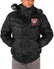 Ecko Men's New Designer Puffer Padded Fur Hooded Short Parka Winter Jacket, Era