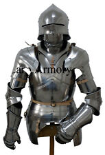 Full Gothic Wearable Suit of Armour Reenactment Vintage Armor Suit Christmas Gif