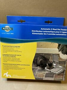 PetSafe Eatwell 2 Meal Timed Automatic Pet Feeder PFD11-13706