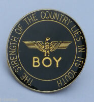 BOY LONDON RARE 1980s PIN BADGE