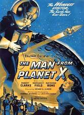 The Man from Planet X A2 High Quality Canvas Art Print