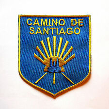 Camino de Santiago Way of St. James Scallop Shell Road Pilgrim Cloth Patch