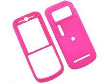 Rubberized Plastic Case Hot Pink For Motorola Zine ZN5