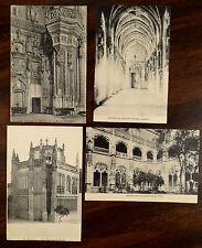San Juan De Los Reyes Toledo Spain 4 Postcards ca.1910-1920
