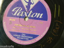78rpm library music WALTER COLLINS strings in the mood / hebrew rhapsody PR 454