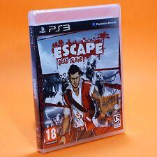 ESCAPE DEAD ISLAND PS3 edizione italiana NUOVO