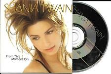 CD CARTONNE CARDSLEEVE COLLECTOR SHANIA TWAIN 1T FROM THIS MOMENT ON ETAT NEUF