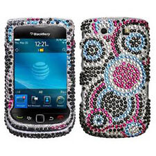 For BlackBerry Torch 9800 Crystal BLING Hard Phone Case Snap on Cover Bubble