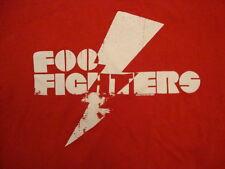 Foo Fighters Alternative Rock Post Grunge Band Fan Red T Shirt M