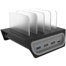 Naztech Adaptive Fast Charge Power Hub 4 Charging Station - Black
