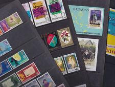 Bahamas 1968-86 Used Full Sets Minisheet Olympic Sport Flowers Tourism Elizabeth