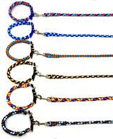 Hundeleine + Hundehalsband Set Biotau Führleine 1-3m tolle Farben mittlere Hunde
