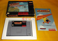 PAC-MAN 2 THE NEW ADVENTURES Super Nintendo Snes Vers NTSC Americana ○ COMPLETO